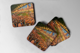 boothferry park Coaster set of four